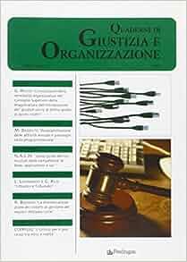 QUaderni di giustizia e organizzazione (2007) vol. 3: 9788883426056