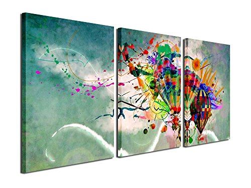 Gardenia Art Colorful Balloon Canvas Prints Wall Art Paintin