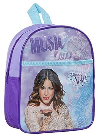 Atosa-27605 Mochila Junior Violetta Color Violeta (27605: Amazon.es: Juguetes y juegos