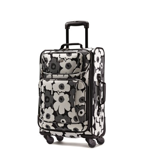 UPC 049845190897, American Tourister Luggage Color Your World Spinner 21, Black/White Floral Print, One Size