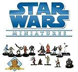 10 Assorted Star Wars Miniatures Grab Bag! By Golden Groundhog