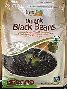 NATURE'S TRUTH ORGANIC BLACK BEANS 10 LBS BAG