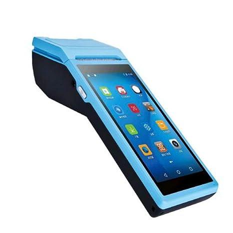 HLKJ Impresora PDA, 5,5 Pulgadas De Pantalla Táctil Terminal ...