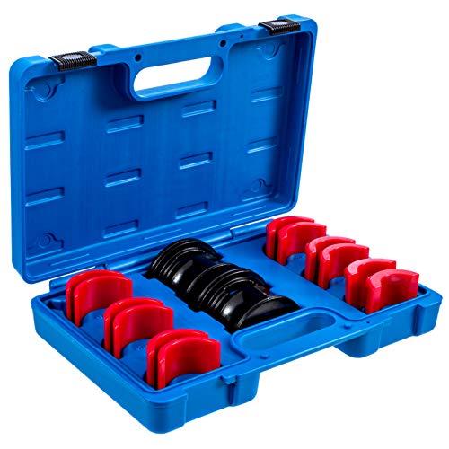 ALPHA MOTO Universal Fork Seal Driver Tool Kit 35mm 36mm 40mm 41mm 42mm 43mm 45mm 46mm 47mm 48mm 49mm 50mm