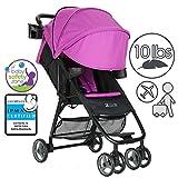 ZOE XL1 DELUXE Xtra Lightweight Travel & Everyday Umbrella Stroller System (Eloise Plum)
