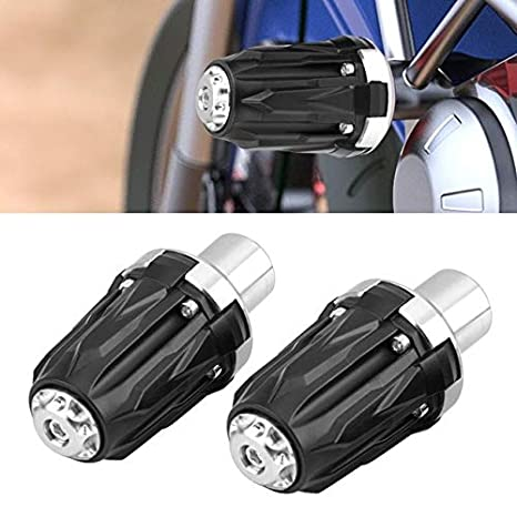 1 Pair 10mm Motorcycle Frame Sliders Falling Protectors Anti Crash Pads