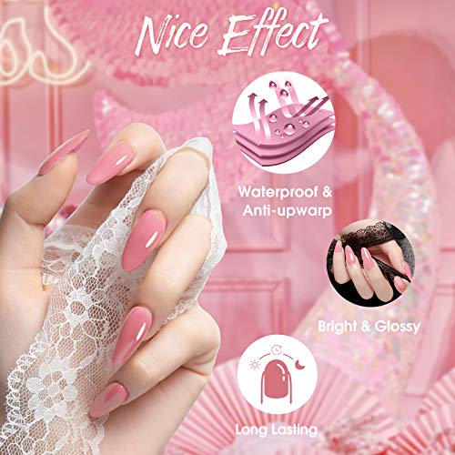 Rosalind Gel Nail Polish Kit 6PCS Natural Warm Tone Pastel Nude Gel Nail Polish Set Perfect for Autumn and Winter Manicure Nail Art