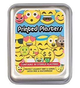 30 Emoji hypoallergenic kids plasters in a tin by Yellodoor
