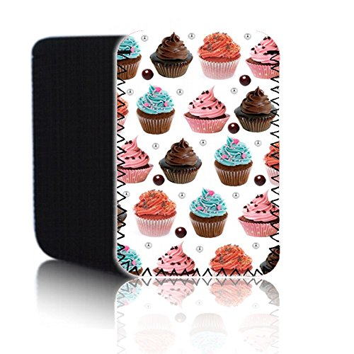 BIZEBEE New Quality Neoprene Rubber Protective Pouch (7HD) for Apple IPAD Mini 1, 2 & 3 (1st, 2nd & 3rd Generation) – Shock and Water Resistant Case Cover Wallet from UK (CUTE CUPCAKES)