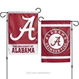 Best Gift Garden Gifts For A Men - NCAA University of Alabama 12x18 Inch 2-Sided Outdoor Review