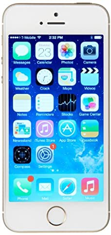 Apple iPhone 5s GSM Unlocked Cellphone, 16 GB, Gold (Iphone 5c Boost Mobile White)