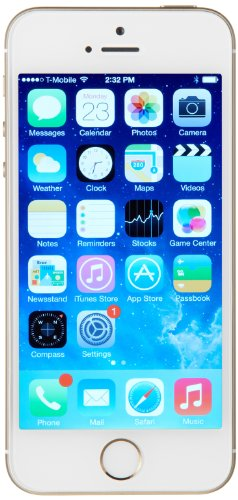 Apple iPhone 5s GSM Unlocked Cellphone, 16 GB, Gold