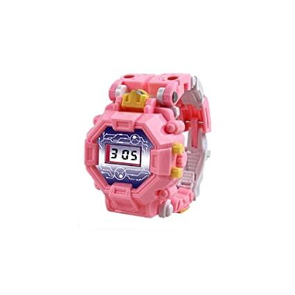 Toy watch transformers toys kids 2 in 1 electronic transformers.