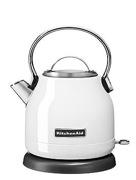 Wondrous Kitchenaid 5Kek1222 Classic Water Kettle 1 25 Litre White Download Free Architecture Designs Grimeyleaguecom