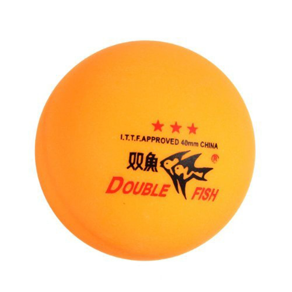 New 3PCS Double Fish ITTF Approved 3-Stars Table Tennis Ping Pong Ball 40mm for Match