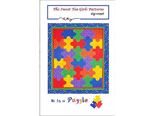 Puzzle Quilt Pattern (Sweet Tea Girls It Is A Puzzle)