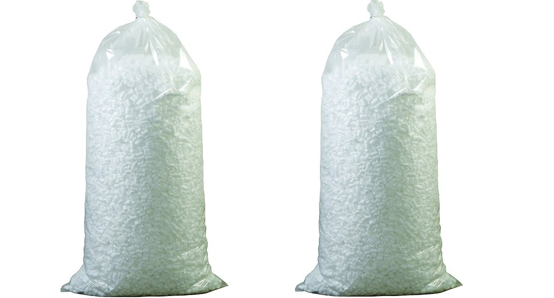 Aviditi 7NUTS Loose Fill Packing Peanuts, 7 Cubic Feet, White (2-(Pack))