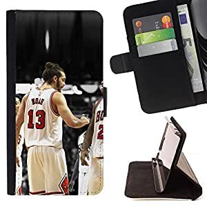 KingStore / Leather Etui en cuir / Sony Xperia Z3 D6603 / 13 Noé Bulls