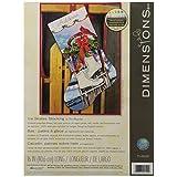 Dimensions Crafts Needlecrafts Needlepoint Stocking Kit, Ice Skates