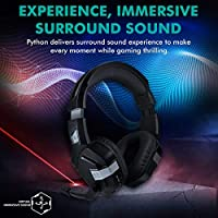 Promate Stereo Gaming Headset, High-Performance Over-Ear USB
