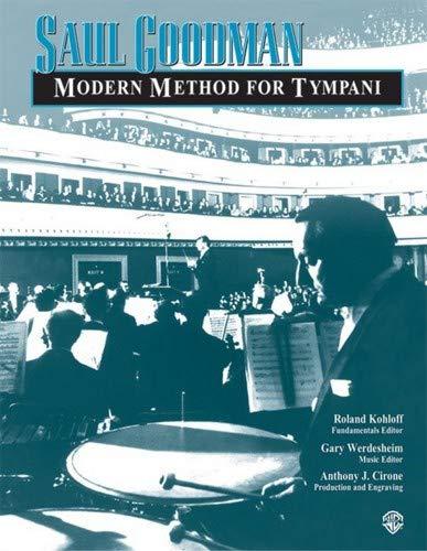 Alfred Saul Goodman: Modern Method for Timpani