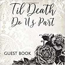 Til Death Do Us Part Gothic Skeleton Wedding Ornament 15x26cm
