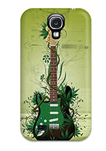 Galaxy S4 Case Cover Skin : Premium High Quality Music Guitar Background Case