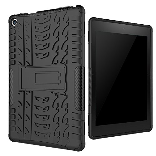 All-New Amazon Fire HD 8 2016 (6th Gen) Case, Beimu [Kickstand Feature] Light Weight Shock-Absorption / High Impact Resistant Armor Defender Case For Fire HD 8 Tablet (6th Gen, 2016 release)