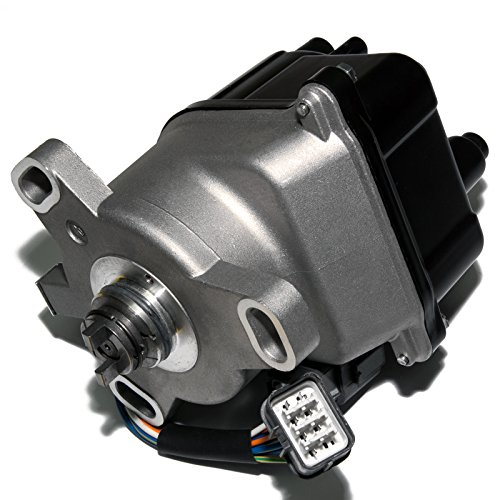 (Brand New Compatible Ignition Distributor w/ Cap & Rotor TD-55U TD46U for 92-95 ACURA INTEGRA 1.8L NON-VTEC ONLY 30100-P75-A02 30100-PR4A12)