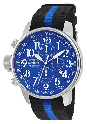 Invicta 22847 I-Force Reloj para Hombre acero inoxidable Cuarzo Esfera azul: Amazon.es: Relojes