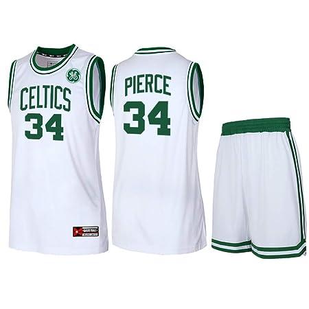 HSWU-DRESS NBA Boston Celtics Paul Pierce # 34 Camiseta De ...