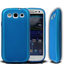 YESOO Samsung Galaxy S3 i9300 TPU Protective Case Cover for Extended Battery (BATTERY + BACK COVER NOT INCLUDED) (BLUE)