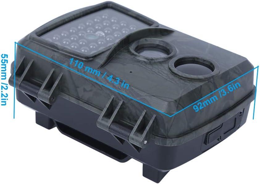 Uso Professionale Annjom Telecamera per Esterni Telecamera a infrarossi affidabile ad Alta risoluzione Comoda per Piante da Caccia per Uso Generale