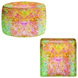 Foot Stools Poufs Chairs Round or Square from DiaNoche Designs by China Carnella - Firefly