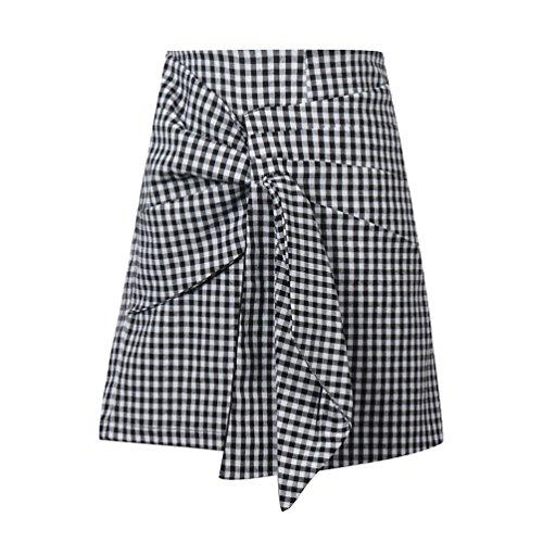 Kesheng Short Jupe Haute Taille Femme Accessoire L