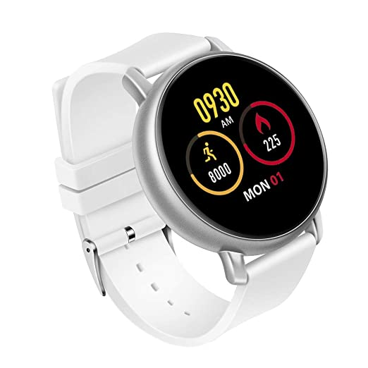 Amazon.com: S666 Smart Watch Sport Bracelet IP67 Water Proof Heart Rate Sleep Monitor Casual Leather Quartz-Watch Analog Wrist: Cell Phones & Accessories