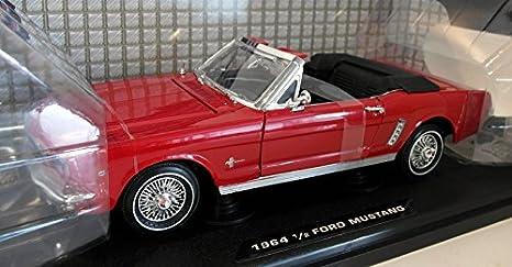 Ford Mustang I 1 Generation 1//2 Cabrio Orange 1 Modelljahr 1964 Generation 196