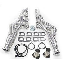 JBA 6961SJS 1-7/8-Inch Silver Ceramic 4 into 1 Primary Long Tube Exhaust Header for Dodge Ram 1500/2500/3500 2/4 WD 5.7-Liter Truck