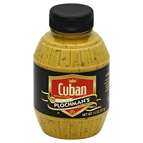 - Plochman's Mustard, Cuban, 11 Pound (Pack of 6)