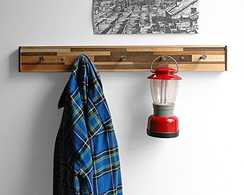 Coat Rack, Reclaimed Wood, Kublala Style, Entryway Organizer
