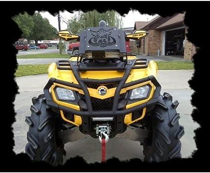 ATV Aluminum Radiator for CAN-AM//CANAM OUTLANDER 500//650//800 2006-2014 08 09 10
