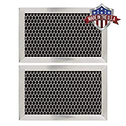 Ge Jx81j Wb02x11124 Wb06x10823 Microwave Recirculating Charcoal Filter Made In Usa 2 Pack