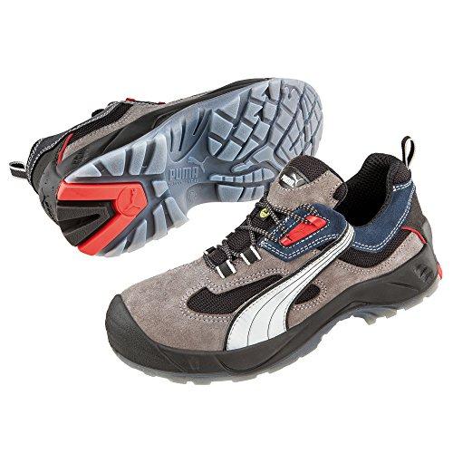 Puma Safety Shoes , Chaussures de sécurité pour homme Grau/Blau 47