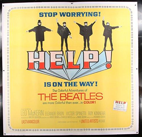 Help! 1965 Original Movie Poster