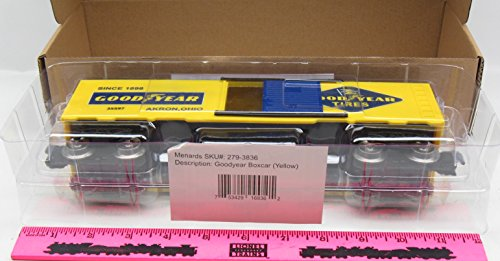 menards-goodyear-o-gauge-boxcar-yellow