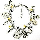 Broadway Charm Bracelets Merchandise - Hamilton Musical Bracelet Girls