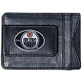 Siskiyou Sports HLMC90 NHL Edmonton Oilers Genuine Leather Cash and Cardholder