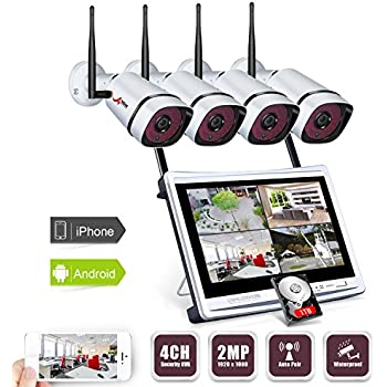 Amazon Com Full Hd All In One System Wireless Security