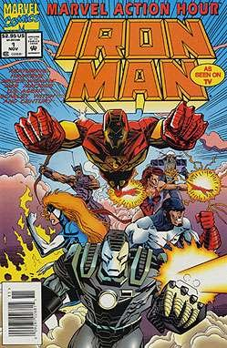 MARVEL ACTION HOUR IRON MAN # 1-8 complete series (MARVEL ACTION HOUR FEATURING IRON MAN (1994 MARVEL))