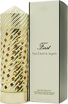 First By Van Cleef Arpels For Women. Eau De Toilette Spray Refillable 3 Ounces